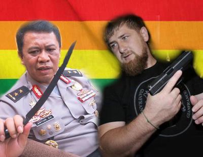 Indonesia sigue el camino de Chechenia: crea una policía anti-LGTBI