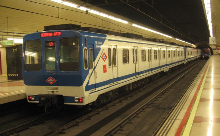 Los trenes más antiguos son los que registran mayores problemas de este tipo