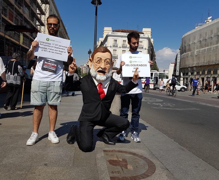 Rajoy recorrerá España con una cabeza de considerables proporciones