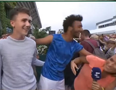 Expulsan de Roland Garros al tenista Maxime Hamou por acosar a una periodista