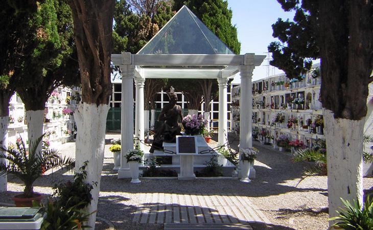 Mausoleo de Rocío Jurado en Chipona (Cádiz)