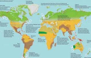 Mapa: así quedaría el mundo si continúa el calentamiento global
