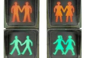 Carmena instala semáforos 'gayfriendly' para celebrar el World Pride
