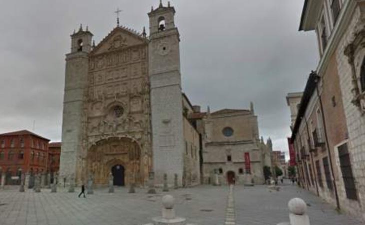exterior de la Iglesia de San Pablo en Valladolid