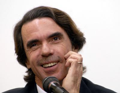 Preguntan a Aznar por la tragedia de Londres y responde contento por la victoria del Real Madrid
