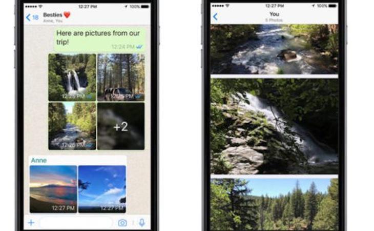 Así funcionan los álbumes de fotos de la aplicación