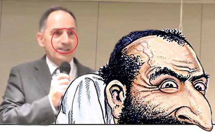 El tal Pedro Varela con su napia nada sospechosa. ¿A que se parecen?