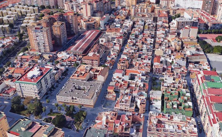 Málaga bajo el nivel del mar