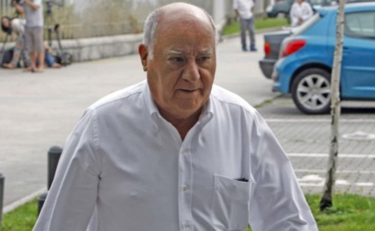 Amancio Ortega, en una fotografía de archivo