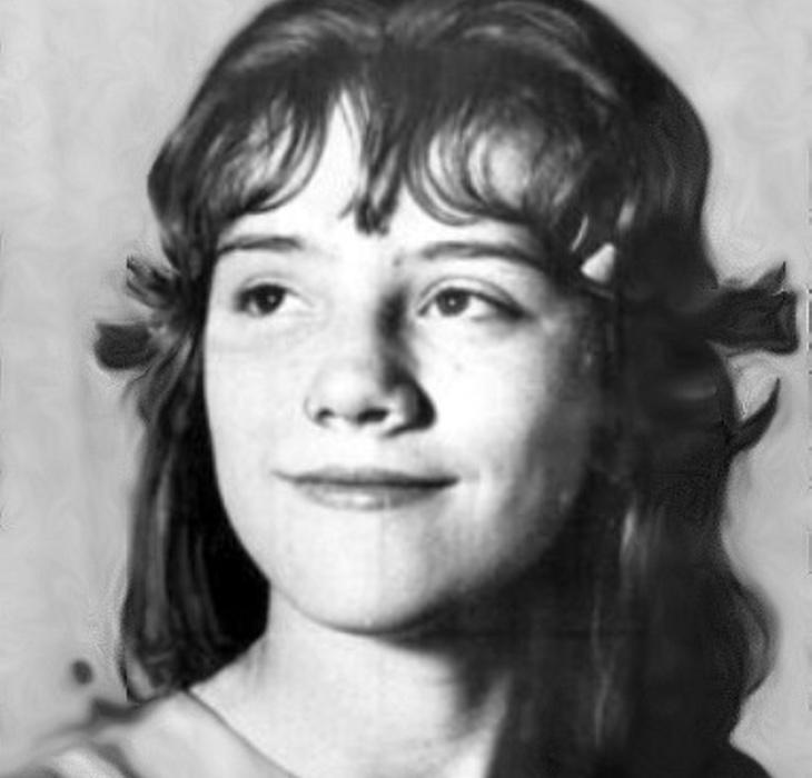 Sylvia Likens, en una fotografía tomada antes de acudir a la casa de Gertrude