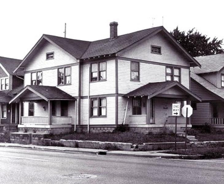 Imagen de la casa donde vivía Gertrude con su familia