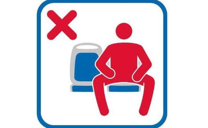Pegatina que se incluirá en los autobuses de la EMT