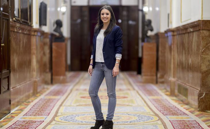 Irene Montero será la portavoz del grupo en el Congreso