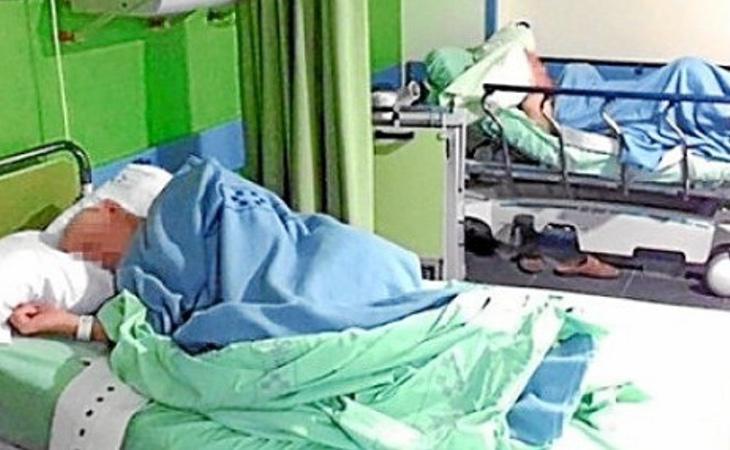 Los ancianos llevan abandonados seis meses en el Hospital