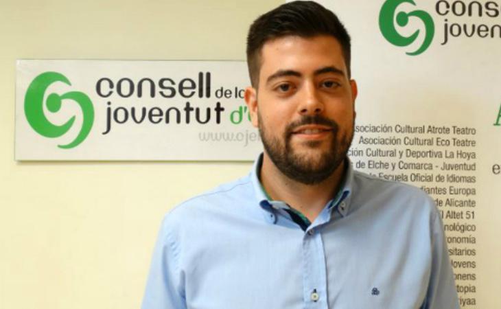 Alejandro Díaz fue elegido como presidente del Consejo de la Juventud el mes pasado