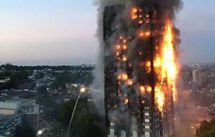 Al menos seis muertos en un incendio en un rascacielos de 24 plantas en Londres