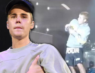 Justin Bieber se niega a cantar 'Despacito' y un fan le tira una botella a la cabeza
