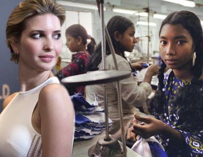 Denuncian las inhumanas condiciones de trabajo en la fábrica de ropa de Ivanka Trump