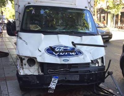 Un camión descontrolado desata el pánico en Madrid por miedo a un ataque terrorista
