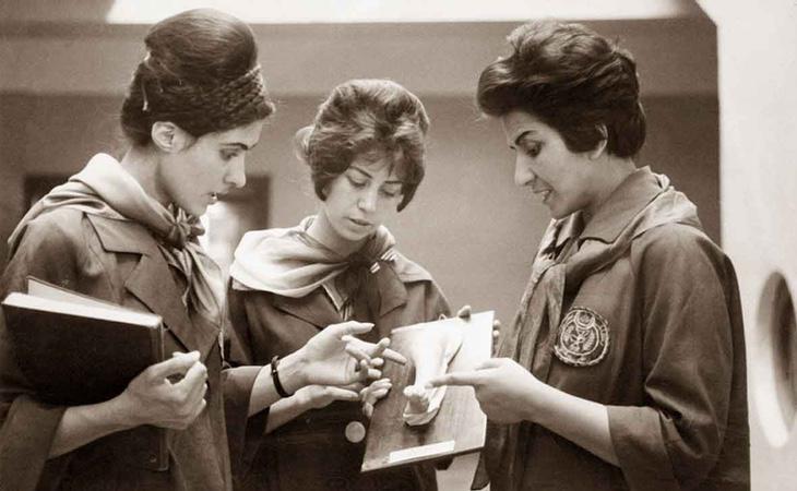 Mujeres afganas en la Universidad de Kabul