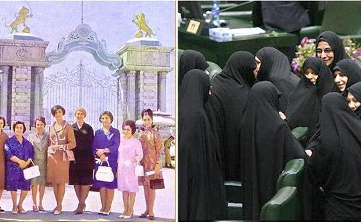 Parlamentarias iraníes antes y después