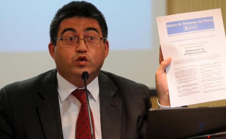 El Delegado de Economía, Carlos Sánchez Mato