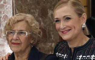 Carmena reduce la deuda de Madrid mientras que Cristina Cifuentes la está aumentando
