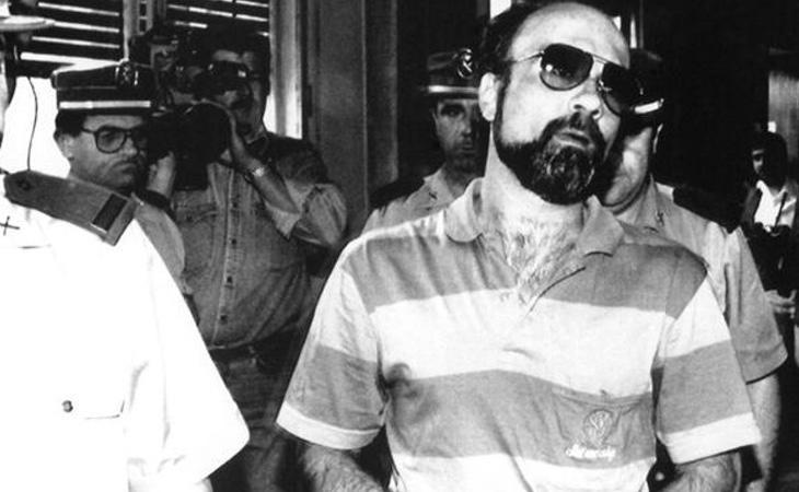 El violadcor del ascensor, en uno de sus primeros ingresos penitenciarios