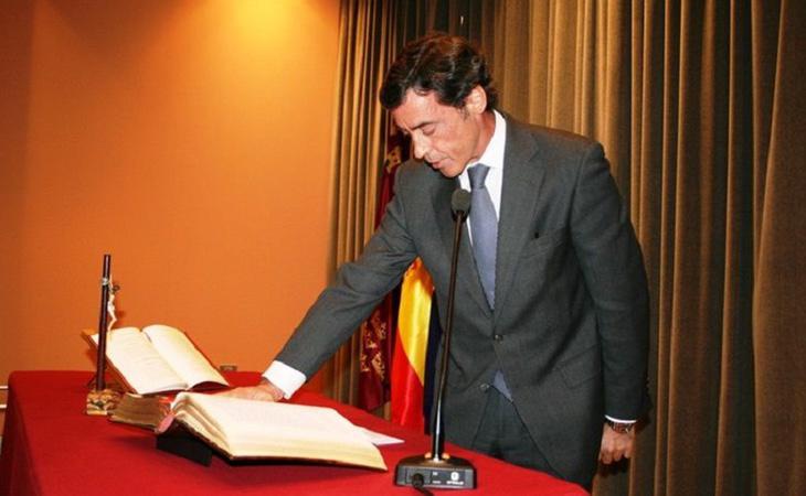 El Delegado del Gobierno en Murcia, Antonio Sánchez-Solis