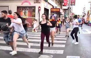 Varios neonazis revientan el Orgullo LGTBI de Murcia y agreden a los manifestantes