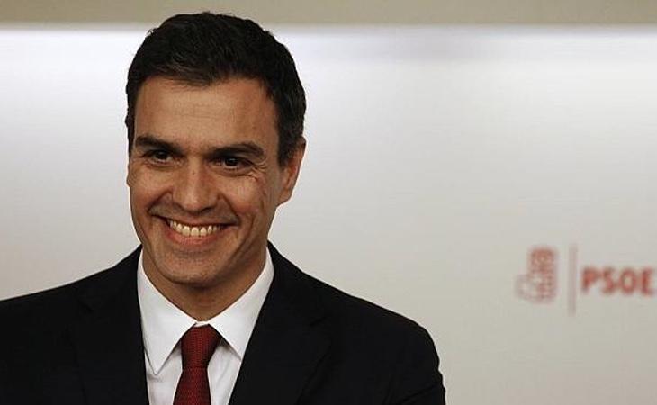 El actual secretario general, Pedro Sánchez