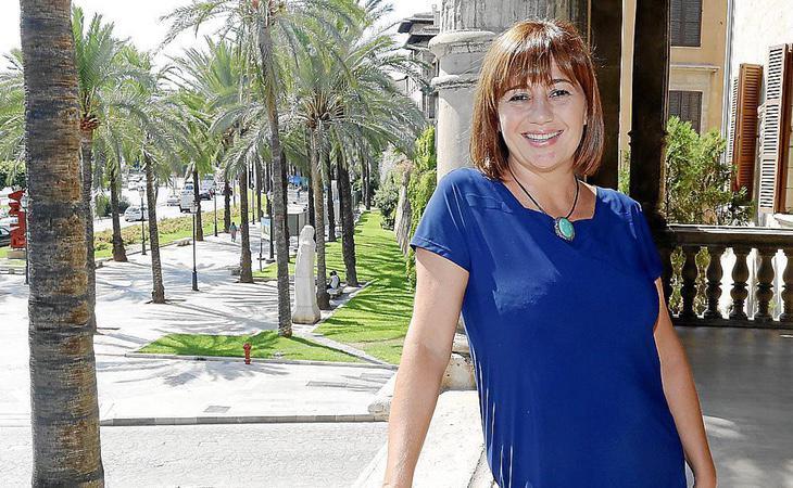La presidenta balear, Francina Armengol, tiene asegurada su permanencia en el cargo