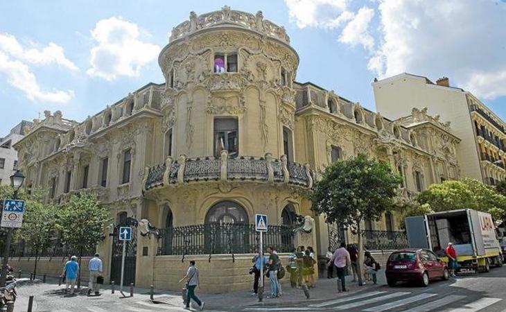 La sede de la SGAE ha sido registrada por la Policía Nacional