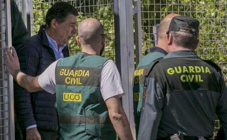 Ignacio González, de excursión