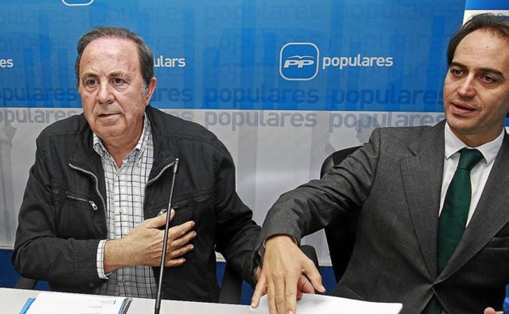 José María Rodríguez (Izq) y Álvaro Guijón (Dcha) en una fotografía de archivo