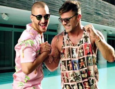 Las redes especulan con un vídeo sexual entre Maluma y Ricky Martin