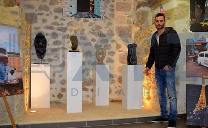 Samuel Benítez triunfa como escultor