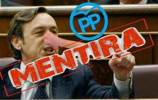 Podemos desmonta con argumentos las falacias de Rafael Hernando (PP)