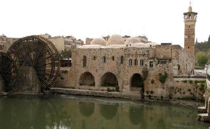 El complejo de ocho siglos ha sido completamente destruido