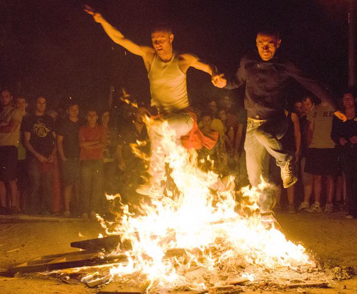 El fuego cuenta con especial tradición esta noche