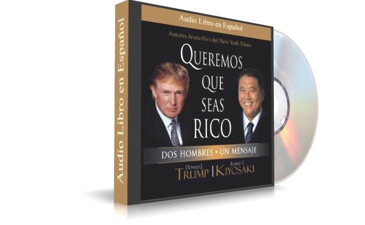 Uno de los libros publicados por Donald trump en el pasado