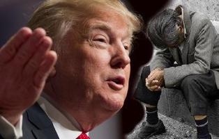 """Donald Trump considera que """"ninguna persona pobre merece estar"""" en su Gobierno"""
