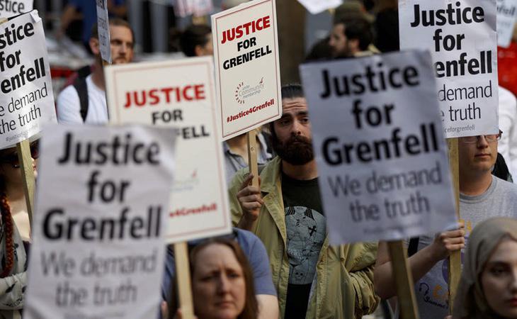 Manifestación reclamando justicia ante la inacción de las autoridades
