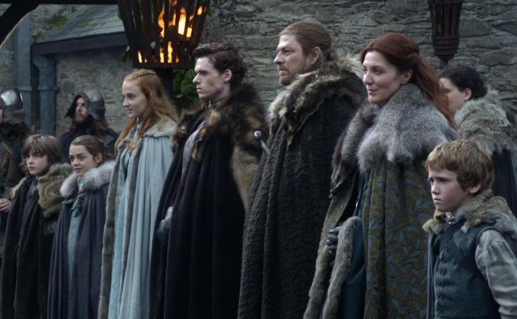Los Stark, la familia guardina del Norte