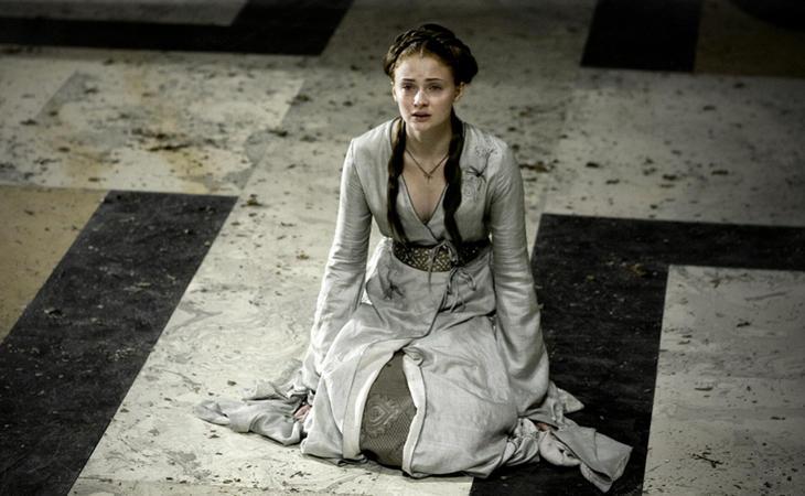 Sansa Stark ha sido una mujer maltratada en 'Juego de Tronos'