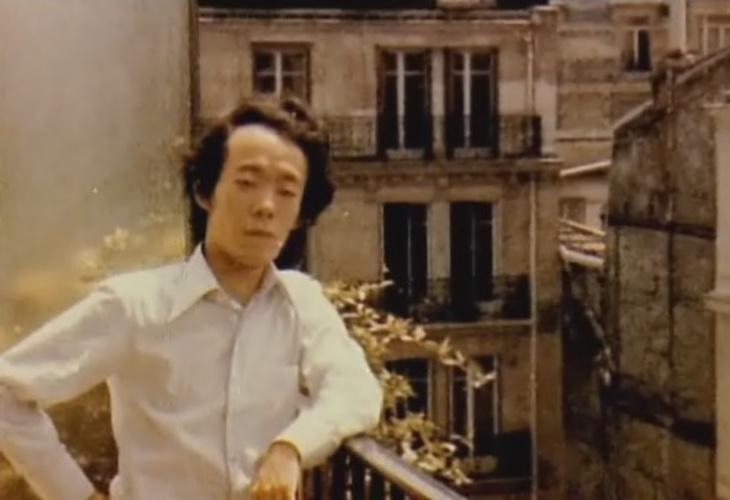 Issei Sagawa, durante su época de estudiante en París
