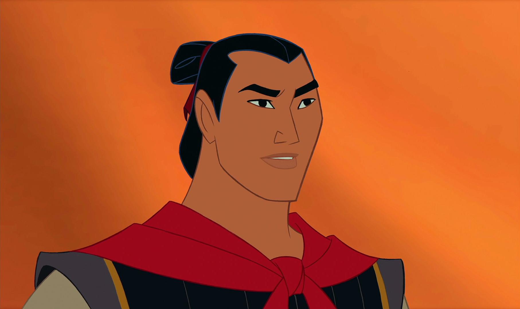 Li Shang representa unos valores que no asumen la valentía y fuerza de la mujer