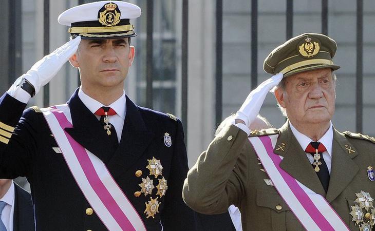 El Rey Juan Carlos fue vetado en el acto