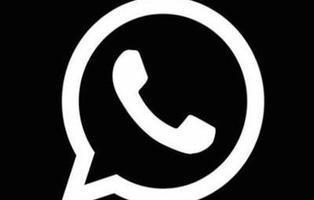 Mucho cuidado con el nuevo modo negro de WhatsApp