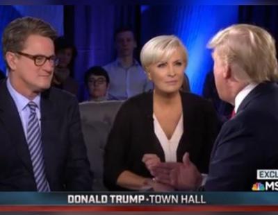 """""""Loca"""" y """"psicópata"""": las perlas de Trump contra dos periodistas opositores"""